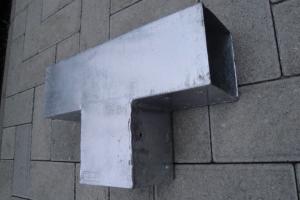 Plus Cubic Verlängerungsbeschlag für Pfosten 9x9cm